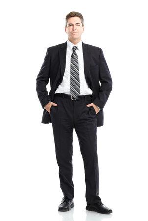 white work: Businessman Stock Photo