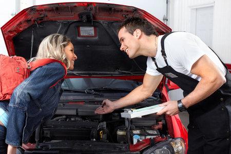 Mécanicien automobile Banque d'images - 9324526
