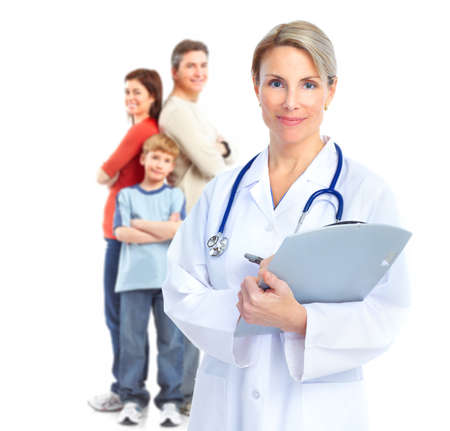 ill: Family doctor