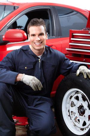 pneumatic tyres: Auto repair