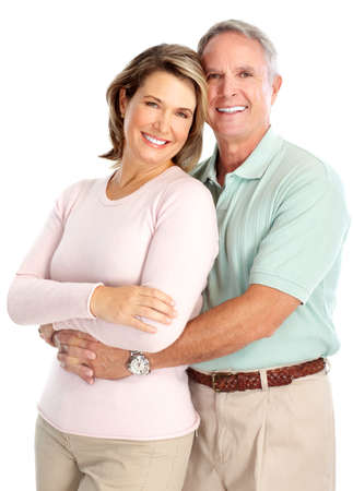 mature couple: seniors couple Stock Photo