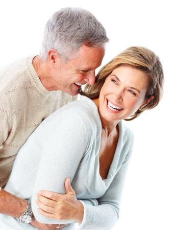 happy mature couple: seniors couple Stock Photo