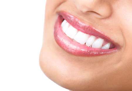 Woman smile  Healthy teeth  photo