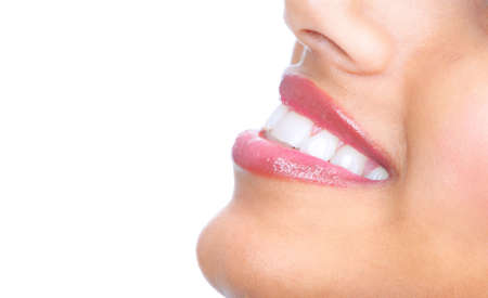 Smile. Healthy teeth. Stock Photo - 9323492