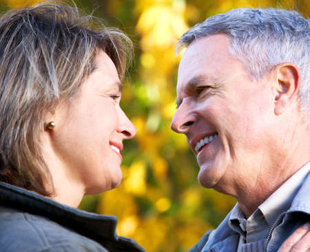 Senior couple in love. Stock Photo - 9367331