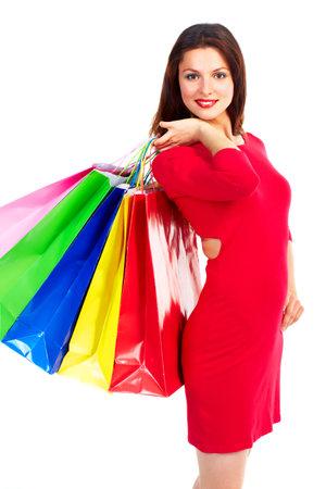 Shopping woman photo