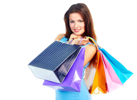 Shopping woman Stock Photo - 9300967