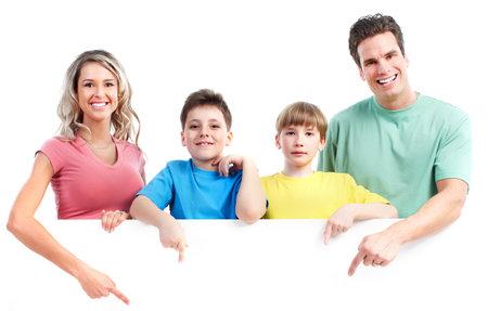 Happy family. Stock Photo - 9329592