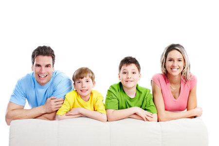 Happy family. Stock Photo - 9329652