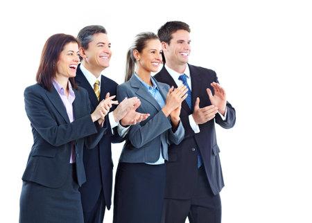 Business people team photo