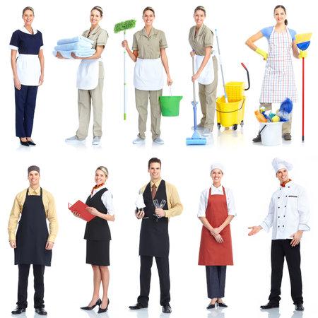 Gens travailleurs Banque d'images - 9362521