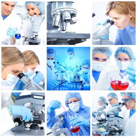 investigador cientifico: Laboratorio