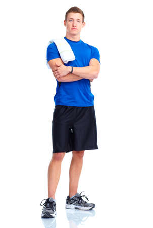 Gym, Fitness, healthy lifestyle Stock Photo