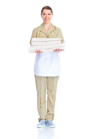 Maid woman Zdjęcie Seryjne - 9467318