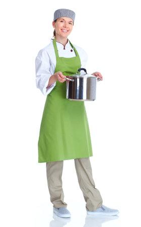 female chef: Chef