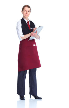 waitress  woman
