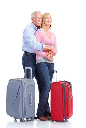 Senior couple travelers Stock Photo - 9467717