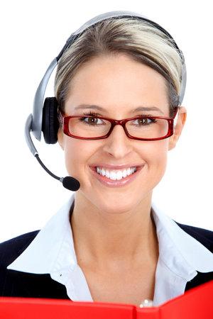 Call Center Operator Stock Photo - 9467614
