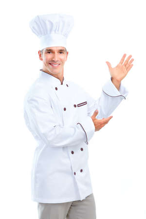 chef cooking: Chef