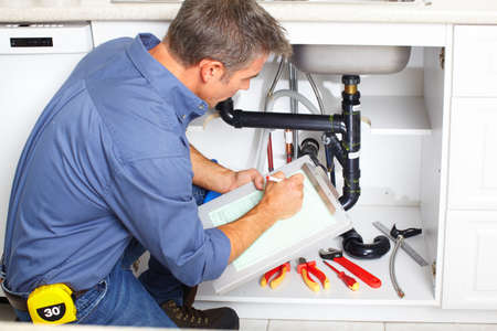work from home: Plumber