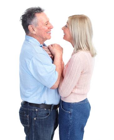 Elderly couple Imagens