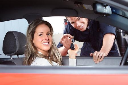 car repair shop: Car keys
