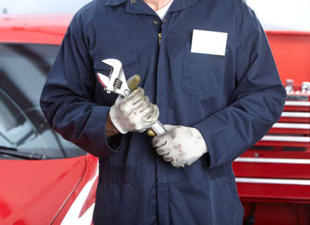 Réparation auto Banque d'images - 9615392
