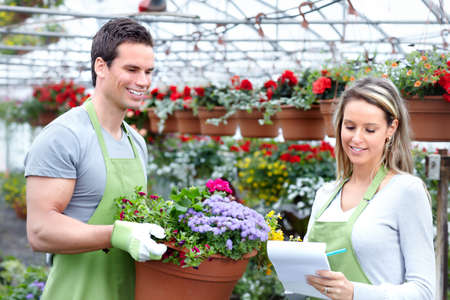 Florists. Stock Photo - 9654629