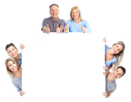 Happy people. Stock Photo - 9654621