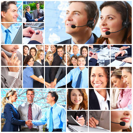 Business people team Stock Photo - 9654649