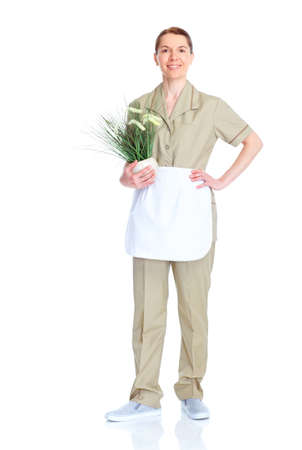 Housemaid woman. Stock Photo - 9654654