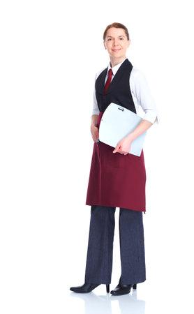 waitress  woman Stock Photo - 9654657