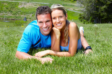 Young couple. Stock Photo - 9654695
