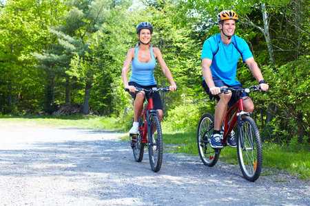 biking: Couple de circonscription.