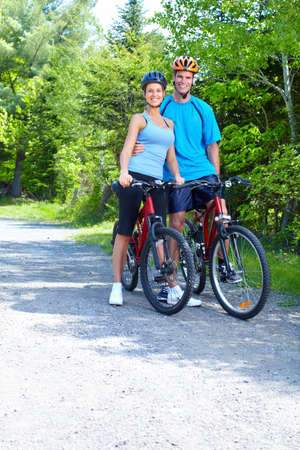 Riding couple. Stock Photo - 9654694