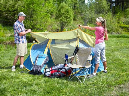 Camping. photo
