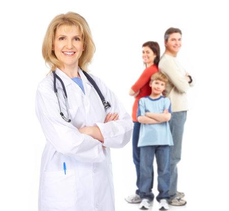 Family doctor Reklamní fotografie - 9713094