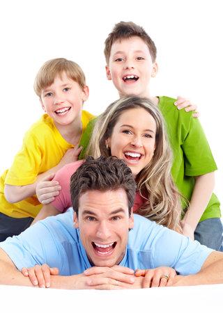 Happy family. Stock Photo - 9713119