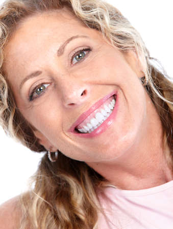 Smiling woman. photo