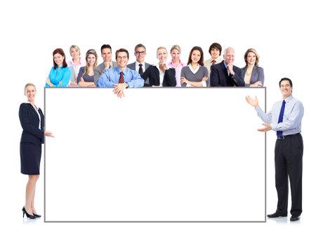 Business mensen team Stockfoto