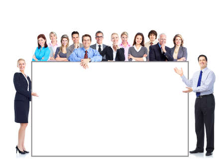 Business-Leute-team