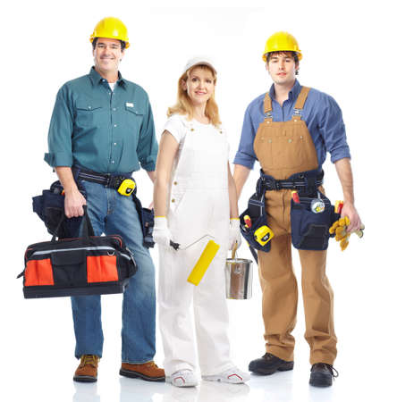 Workers. Stock Photo - 10331078