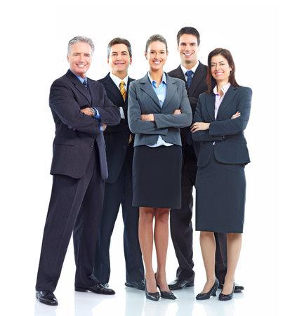 personas: Equipo de personas de negocios