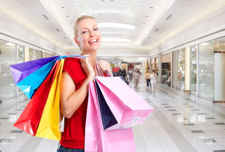 Shopping woman. Stock Photo - 10331075