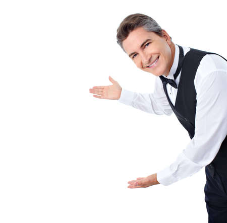 Waiter. Stock Photo - 10419388