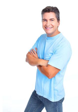 mature male: Man Stock Photo