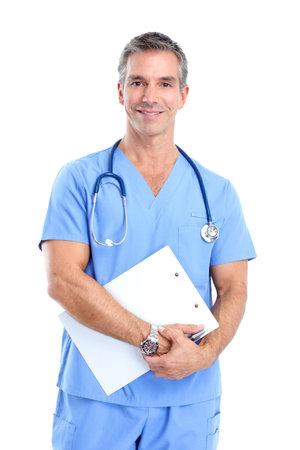 doctors smiling: Doctor.