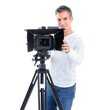 fashion shoot: Cameraman.