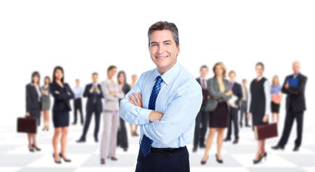 werk: Mensen uit het bedrijfsleven team
