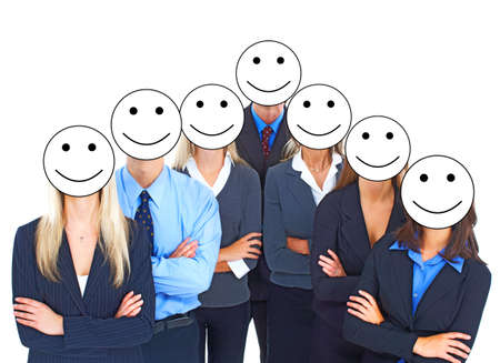Business people team. Stock Photo - 10449385